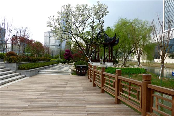 园区新综合大楼新建项目景观、场地工程