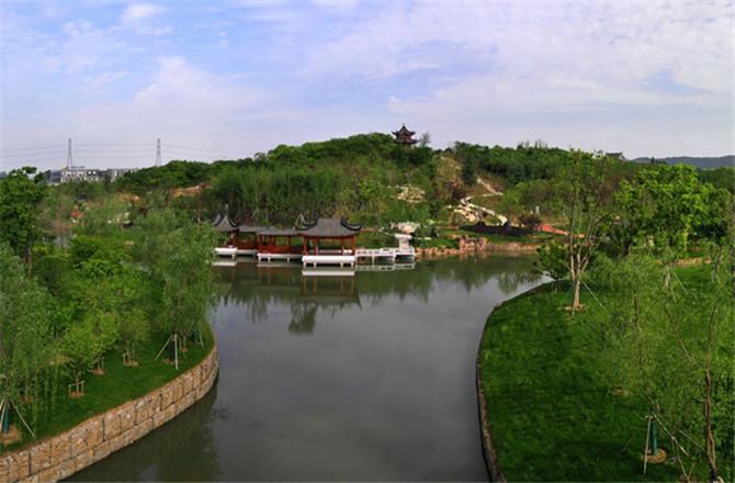 小茅山公园土方绿化二标段