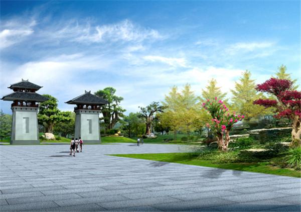 汉皇祖陵二期景观绿化设计